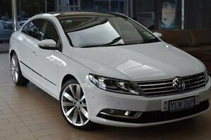 2015 Volkswagen CC 3C MY15 130 TDI Candy White 6 Speed Direct Shift Coupe Belconnen Belconnen Area Preview