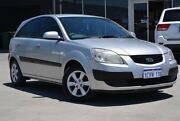 2008 Kia Rio JB EX Silver 4 Speed Automatic Hatchback Welshpool Canning Area Preview