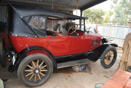 WILLYS 1925 AND TRAILER vintage  Mallala Mallala Area Preview