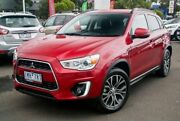2016 Mitsubishi ASX XB MY15.5 LS 2WD Red 6 Speed Constant Variable Wagon Nunawading Whitehorse Area Preview