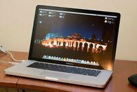 "Apple Macbook Pro 15"" unibody i7 2.66ghz OSX 10.10.3 MS Office"