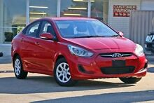 2014 Hyundai Accent RB2 Active Red 4 Speed Sports Automatic Sedan Yeerongpilly Brisbane South West Preview