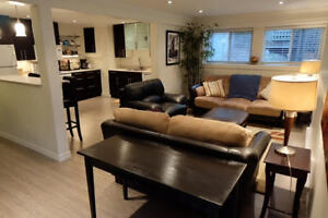Fully Furnished Apartment Near Downtown