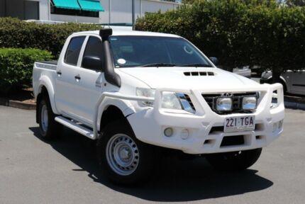 2013 Toyota Hilux KUN26R MY12 SR Double Cab Glacier 4 Speed Automatic Utility Acacia Ridge Brisbane South West Preview