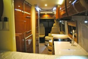 Ultimate dodge sprinter/van into motorhome conversions