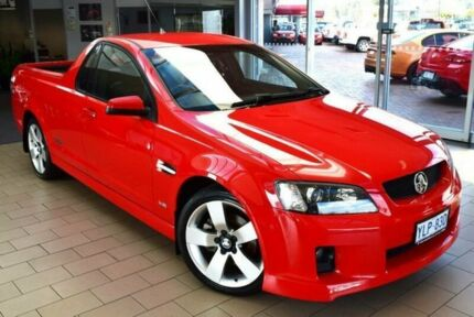 2008 Holden Commodore VE MY09.5 SS-V Red Hot 6 Speed Manual Utility