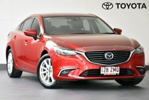 2015 Mazda 6 GJ Series 2 Touring Red Sports Automatic Indooroopilly Brisbane South West Preview