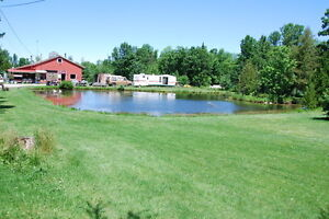 Fish farm 20 acres 7 ponds Coldwater 120 km N of Toronto