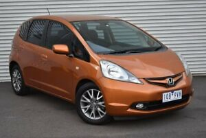 2010 Honda Jazz GE MY10 GLI Limited Edition Orange 5 Speed Automatic Hatchback Epping Whittlesea Area Preview