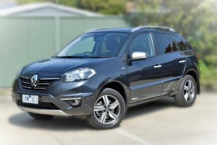 2014 Renault Koleos H45 Phase III Bose Grey 1 Speed Constant Variable Wagon