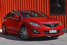 2012 Mazda 6 GH1052 MY12 Touring Red 6 Speed Manual Hatchback Molendinar Gold Coast City Preview