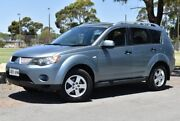2009 Mitsubishi Outlander ZG MY09 LS Blue 6 Speed Constant Variable Wagon Brighton Holdfast Bay Preview