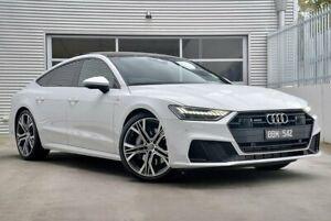 2019 Audi A7 4K 55 TFSI White Sports Automatic Dual Clutch Berwick Casey Area Preview