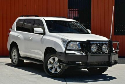 2013 Toyota Landcruiser Prado KDJ150R MY14 GXL White 5 Speed Sports Automatic Wagon Molendinar Gold Coast City Preview