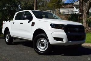 2016 Ford Ranger PX MkII XL Double Cab White 6 Speed Sports Automatic Cab Chassis St Marys Mitcham Area Preview