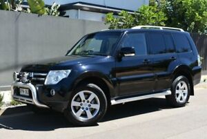 2007 Mitsubishi Pajero NS Exceed Black 5 Speed Sports Automatic Wagon Brighton Holdfast Bay Preview