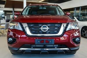 2019 Nissan Pathfinder R52 Series III MY19 Ti X-tronic 4WD Cayenne Red 1 Speed Constant Variable Osborne Park Stirling Area Preview