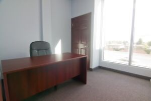 Furnished Suites w/free boardrooms/receptionist@Airport