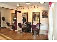 Hair Stylist minimum of 3 years experience and a Beauty Therapist with NVQ level 3 required.