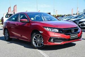 2020 Honda Civic MY20 VTi-S Ignite Red Continuous Variable Sedan Wangara Wanneroo Area Preview
