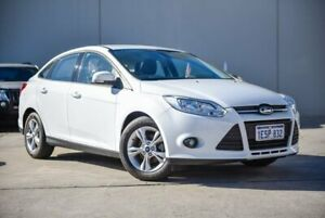 2015 Ford Focus LW MkII MY14 Trend PwrShift White 6 Speed Sports Automatic Dual Clutch Hatchback Midvale Mundaring Area Preview