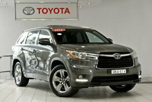 2016 Toyota Kluger GSU55R Grande AWD Grey 6 Speed Sports Automatic Wagon Waterloo Inner Sydney Preview