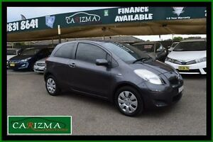 2011 Toyota Yaris NCP91R 10 Upgrade YRS Grey 4 Speed Automatic Hatchback Toongabbie Parramatta Area Preview
