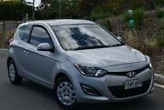 2012 Hyundai i20 PB MY12 Active Silver 5 Speed Manual Hatchback St Marys Mitcham Area Preview