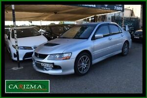 2006 Mitsubishi Lancer CY MY06 Evolution IX Silver 6 Speed Manual Sedan Toongabbie Parramatta Area Preview
