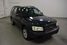 2002 Subaru Forester MY03 X Green 4 Speed Automatic Wagon Moorabbin Kingston Area Preview