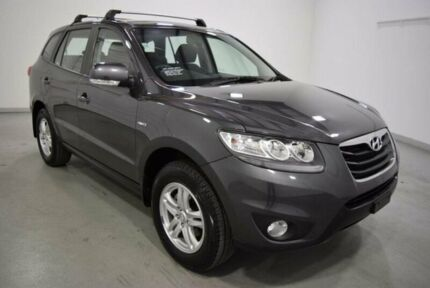 2010 Hyundai Santa Fe CM MY10 SLX CRDi (4x4) Grey 6 Speed Automatic Wagon Moorabbin Kingston Area Preview