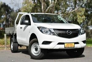 2016 Mazda BT-50 UR0YG1 XT Freestyle 4x2 Hi-Rider White 6 Speed Sports Automatic Cab Chassis Melrose Park Mitcham Area Preview