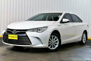 2015 Toyota Camry AVV50R Altise White 1 Speed Constant Variable Sedan Hybrid Hendra Brisbane North East Preview