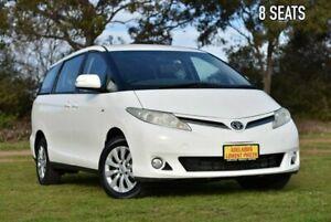2009 Toyota Tarago ACR50R MY08 GLi White 4 Speed Sports Automatic Wagon Enfield Port Adelaide Area Preview
