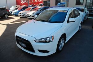 2014 Mitsubishi Lancer CJ MY14 ES White 6 Speed Constant Variable Sedan Townsville Townsville City Preview