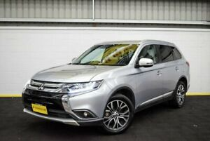 2017 Mitsubishi Outlander ZK MY18 LS AWD Silver 6 Speed Constant Variable Wagon Canning Vale Canning Area Preview