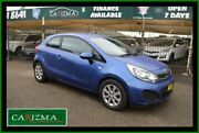 2014 Kia Rio UB MY14 S Blue 4 Speed Automatic Hatchback Seven Hills Blacktown Area Preview