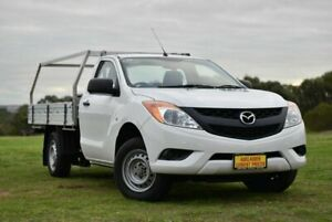 2012 Mazda BT-50 UP0YD1 XT 4x2 White 6 Speed Manual Cab Chassis Strathalbyn Alexandrina Area Preview