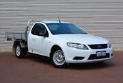 2009 Ford Falcon FG Super Cab White 4 Speed Sports Automatic Cab Chassis Gosnells Gosnells Area Preview