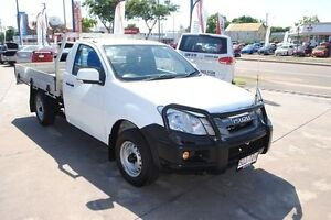 2012 Isuzu D-MAX MY11 SX White 5 Speed Manual Cab Chassis Townsville Townsville City Preview