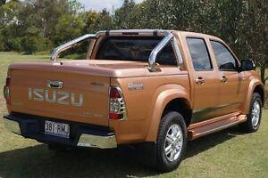 2010 Isuzu D-MAX MY10 Limited Edition II Orange 5 Speed Manual Utility Bundaberg West Bundaberg City Preview