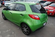 2007 Mazda 2 DE10Y1 Neo Green 5 Speed Manual Hatchback Hyde Park Townsville City Preview