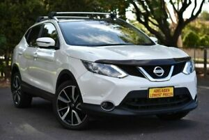 2017 Nissan Qashqai J11 TL White 1 Speed Constant Variable Wagon Melrose Park Mitcham Area Preview