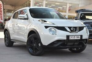 2018 Nissan Juke F15 MY18 Ti-S X-tronic AWD Ivory Pearl 1 Speed Constant Variable Hatchback Blacktown Blacktown Area Preview