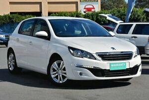 2014 Peugeot 308 T9 Active White 6 Speed Sports Automatic Hatchback Chinderah Tweed Heads Area Preview