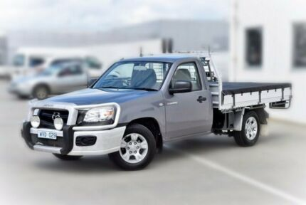 2009 Mazda BT-50 UNY0W4 DX Grey 5 Speed Manual Cab Chassis