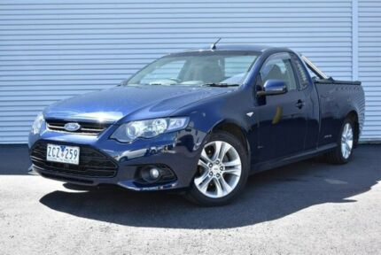 2012 Ford Falcon FG MkII XR6 Ute Super Cab EcoLPi Blue 6 Speed Sports Automatic Utility