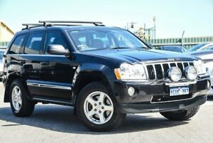 2007 Jeep Grand Cherokee WH MY2007 Limited Black 5 Speed Automatic Wagon