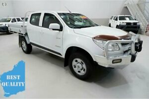 2013 Holden Colorado RG MY13 LX Crew Cab 4x2 White 6 Speed Sports Automatic Cab Chassis Kenwick Gosnells Area Preview