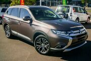 2016 Mitsubishi Outlander ZK MY17 LS 4WD Bronze 6 Speed Constant Variable Wagon Nunawading Whitehorse Area Preview